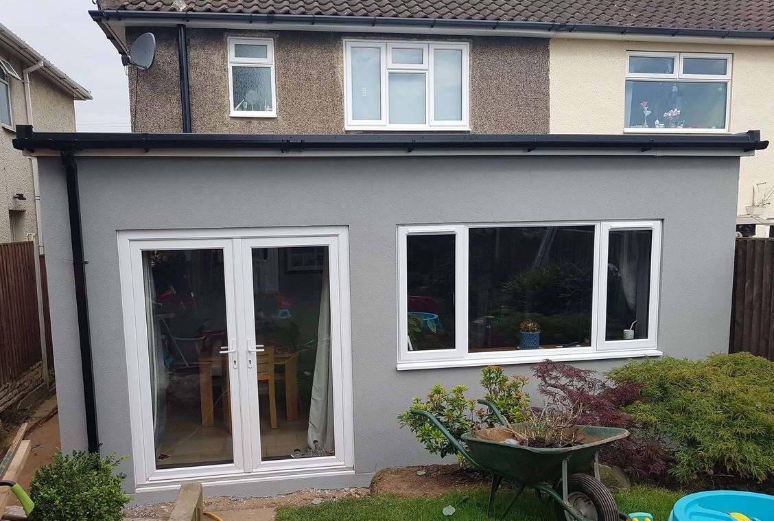 Silicone Render, Rendering, home renovation, home improvements, alsecco